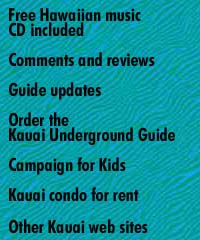 Kauai Underground Guide finds best beaches, restaurants, tours, activities, vacation advice